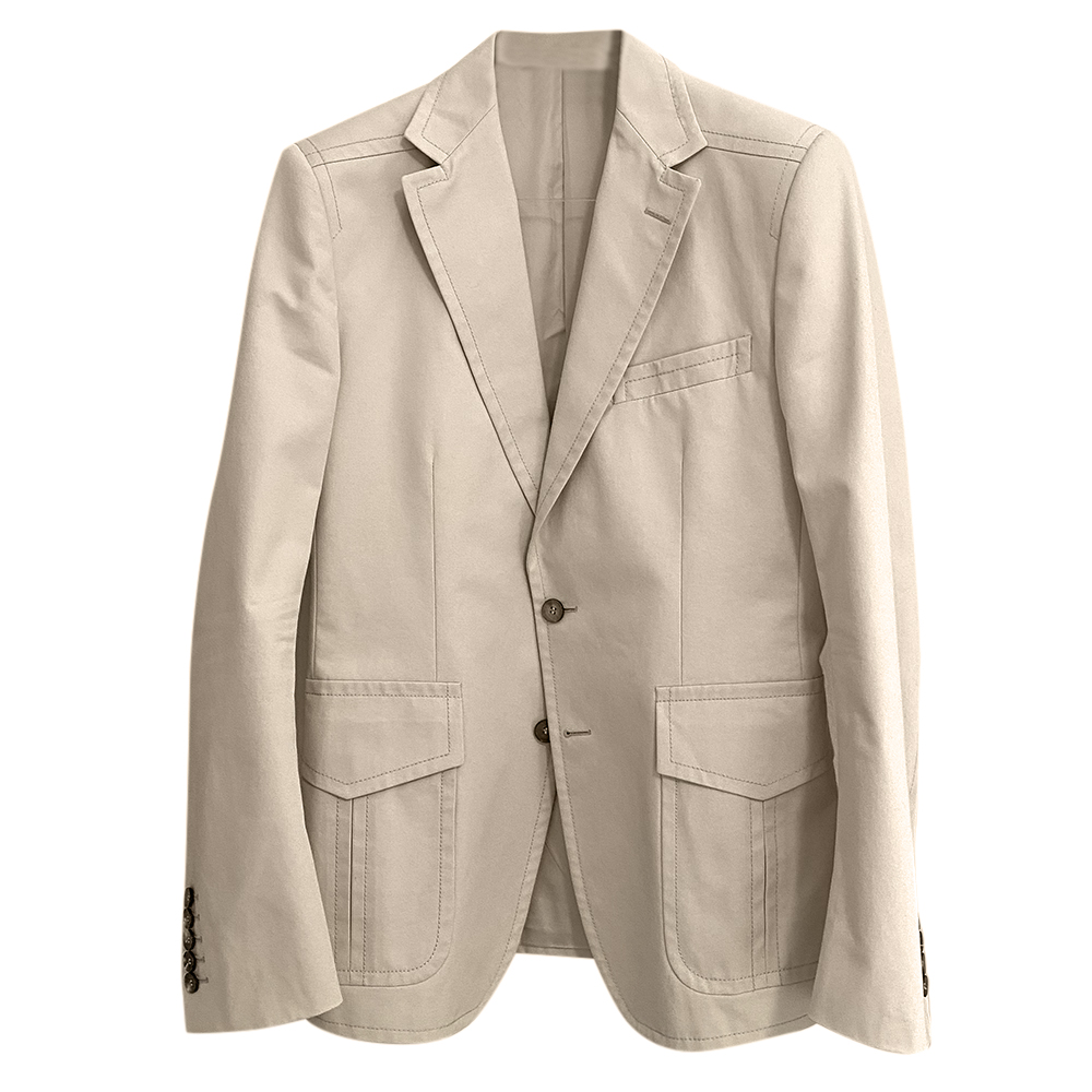 Gucci Men's Tailored Single Breasted Jacket