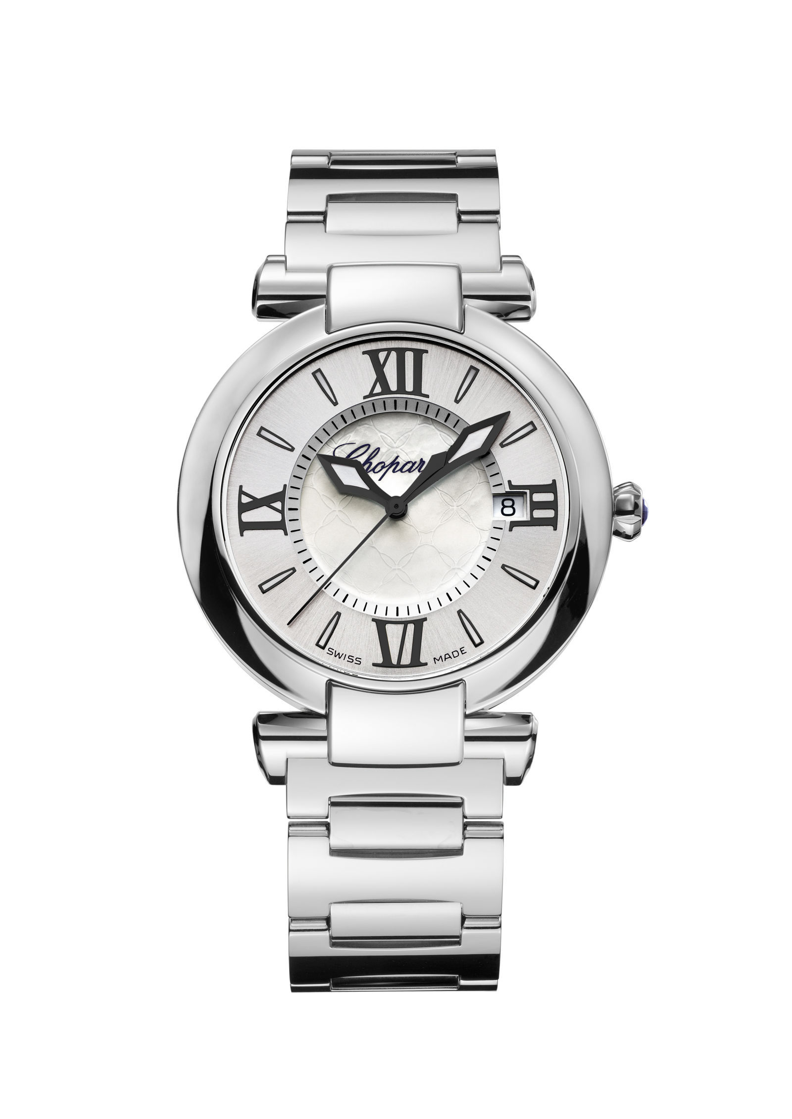 Chopard 36mm Imperiale Watch with Alligator & Stainless Steel Straps
