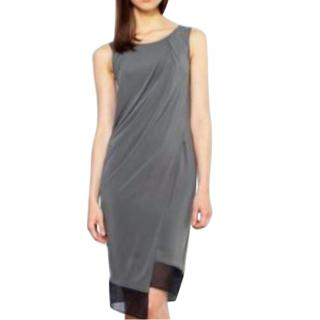 Helmut Lang Grey Melody Dress