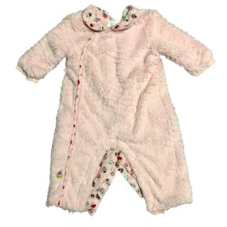 Kenzo Pink Soft Cotton Baby Grow