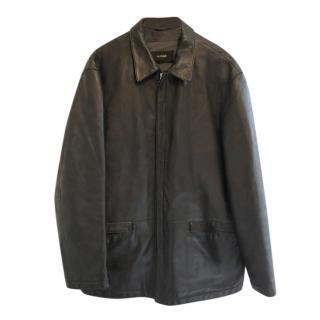 Boss Hugo Boss Black Men's Leather Jacket