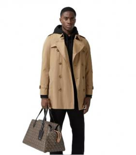 Burberry Brit beige short trench coat