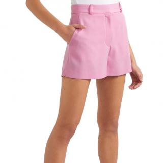Stella McCartney Pink Tailored Wool Shorts