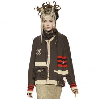 Chanel Paris/Moscow Cashmere Blend Cardigan