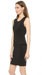 Alexander Wang black bodycon peplum dress