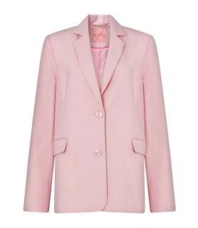 KITRI Studio Laurie Pink Oversized Blazer