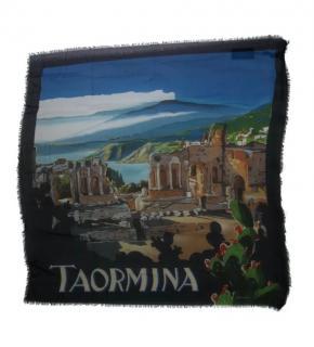 Dolce & Gabbana Taormina cashmere blend print scarf