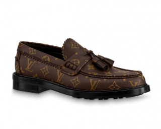 Louis Vuitton Monogram Voltaire Loafers