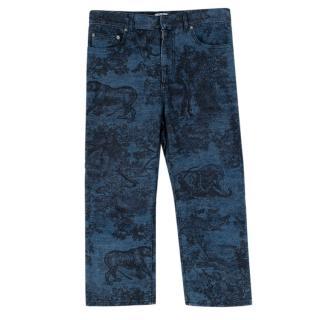 Dior Toile de Jouy Blue Jeans