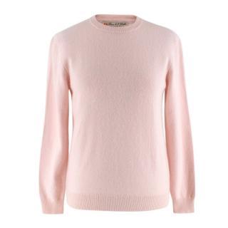 Duca di San Giusto Baby Pink Cashmere Jumper