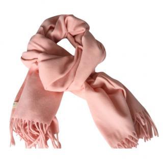Rag & Bone Pink Wool Scarf
