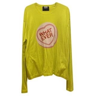 Markus Lupfer Neon Love Heart Top