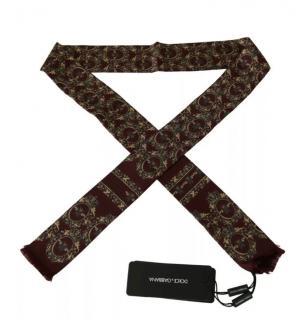 Dolce & Gabbana Men's Crown Print SIlk Neck Tie