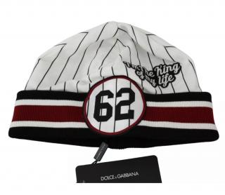 Dolce & Gabbana Men's Striped Baseball Style Beanie