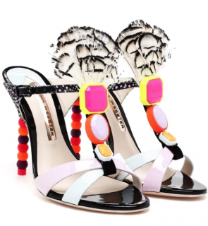 Sophia Webster 'Tiana' Feather Sandals