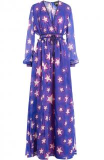 Just Cavalli Star Print Maxi Dress