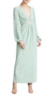 Ronny Kobo Mint Green Selita Keyhole Dress