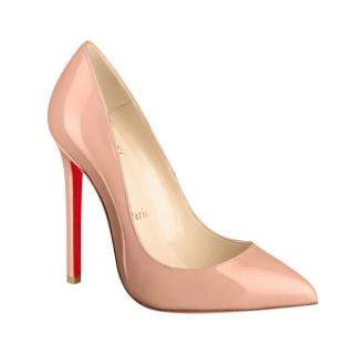 Christian Louboutin Nude Patent Pigalle 120