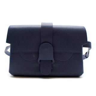 Senreve Blue Dolce Leather Aria Belt Bag