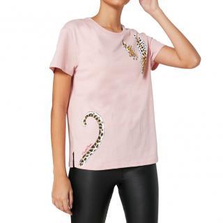 Charlotte Olympia x Puma Pink Leopard T-Shirt