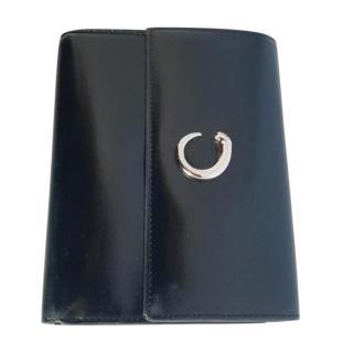 Cartier Panthere Tri-Fold Black Wallet