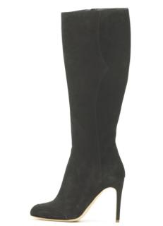 Rupert Sanderson Elevato Asphalt Grey Knee Boots