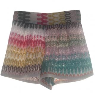 Missoni Mare Crochet Knit Shorts