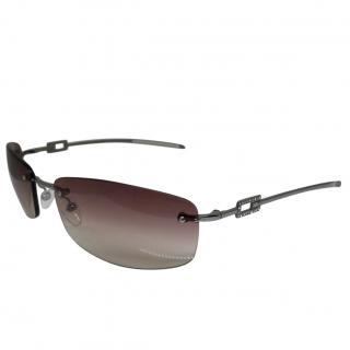 Gucci GG1784 Strass silver & purple lens sunglasses