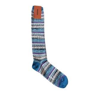 Missoni long multi coloured socks