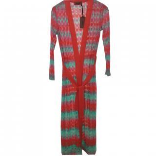 Missoni multicoloured knit longline cardigan