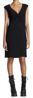 Tory Burch Patrice black cr�pe dress