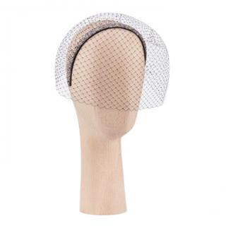 Dior Lurex headband with Net Veil