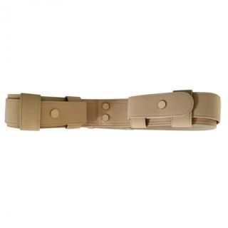 Chloe Beige Utility Waist Belt