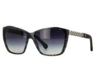 Chanel 5327-Q Black Reissue Sunglasses