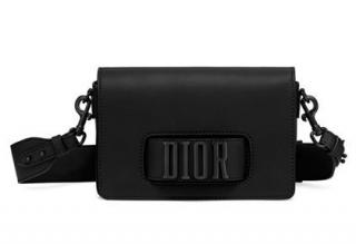 Christian Dior Ultra Black Dio(R)Evolution Matte Black Flap Bag