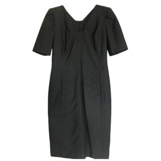 Amanda Wakeley Grey Fitted Dress