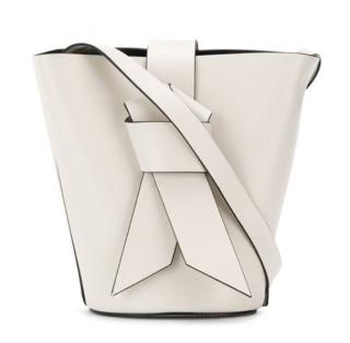 Acne Studios White Musubi Bucket Bag