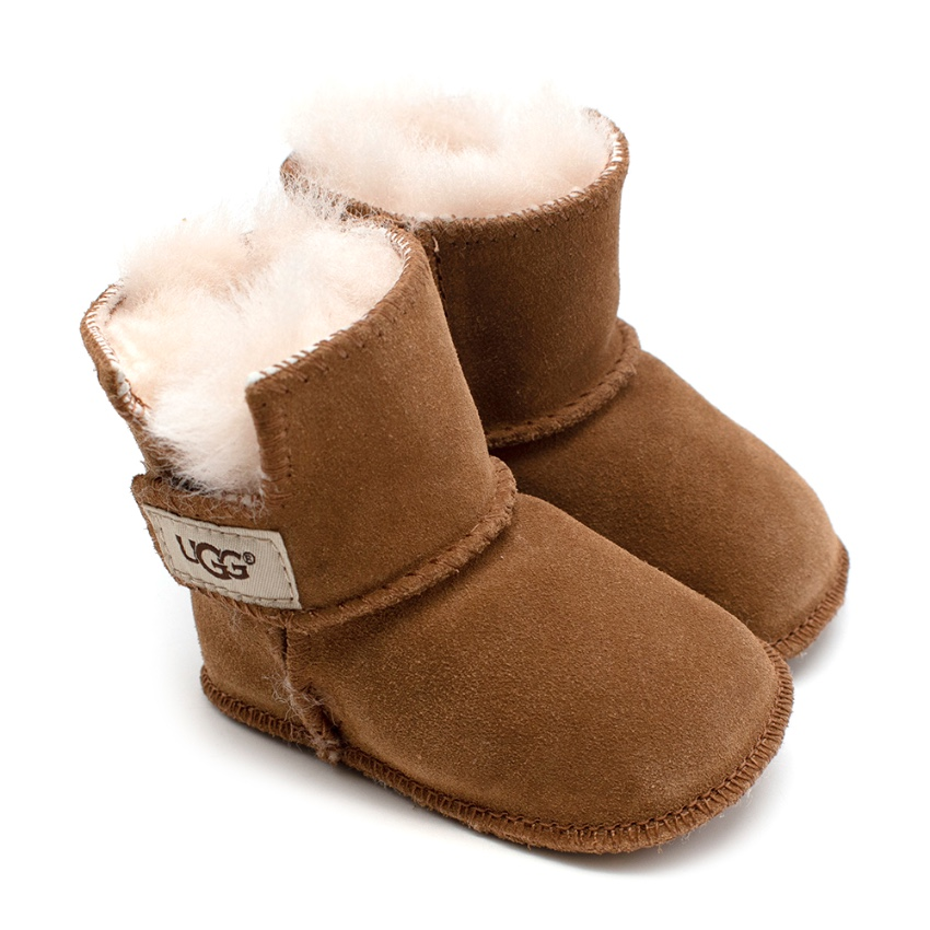 Ugg Australia Kid's Tanned Suede Boots