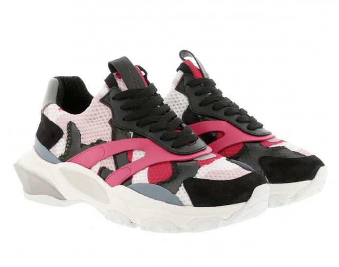 Valentino Garavani Bounce camo pink sneakers