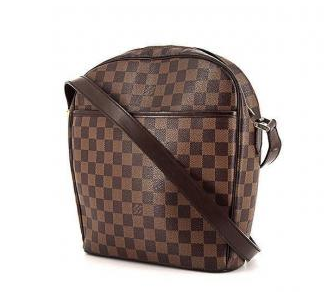 Louis Vuitton Ipanema Damier Ebene Shoulder Bag