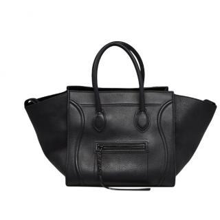 Celine Black Medium leather Phantom Luggage Tote