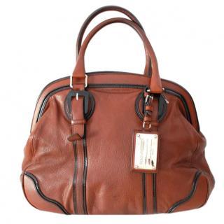 Dolce & Gabbana Brown Miss Romantique Tote Bag