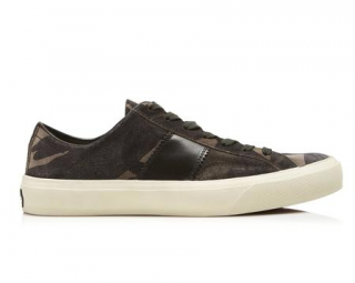 Tom Ford Camouflage Cambridge Sneakers