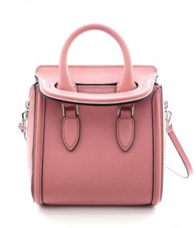 Alexander McQueen Pink Heroine Mini Crossbody Bag