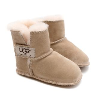 Ugg Australia Kids Nude Shearling Boots