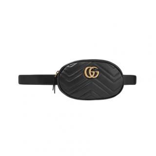 Gucci Black Marmont Belt Bag