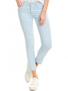 AG Jeans The Prima Blue Cigarette Crop Jeans