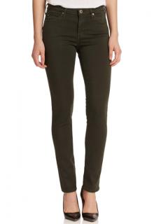 AG Jeans Prima Khaki Mid-rise Cigarette Jeans