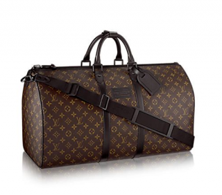 Louis Vuitton Waterproof Keepall Bandouli�re 55 in Monogram Canvas