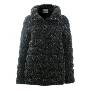 Herno Boucle Wool Down Puffer Coat